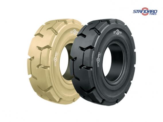 Pneu Superelástico Standard Tyres 200/50-10/6.50 ST-2000 P
