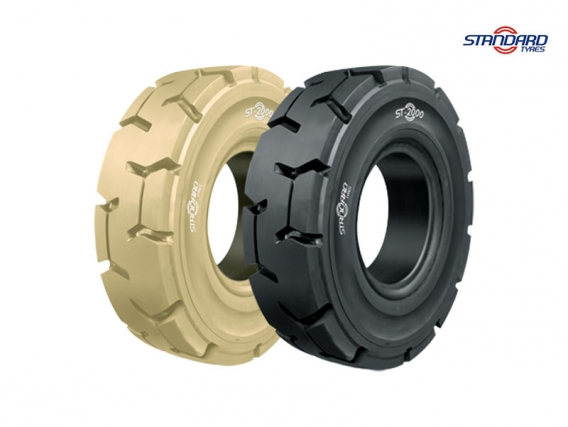 Pneu Superelástico Standard Tyres 18x7-8/4.33 ST-2000 P LOC 1W