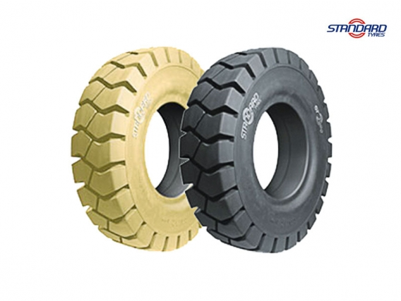 Pneu Superelástico Standard Tyres 250-15/7.50 ST-3000 LOC