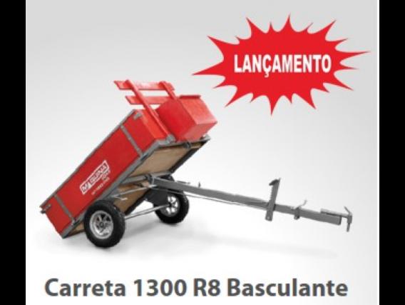 Carreta Basculante Para Motocultivadores 1300 R8 - Maquinafort
