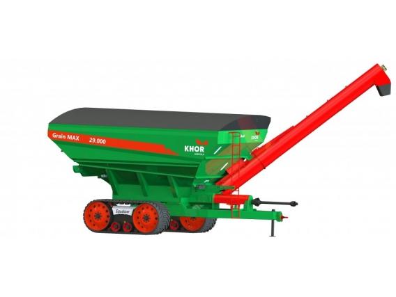 Carreta Graneleira Kuhn Khor Grain Max Grãos Esteira / Tandem 29000