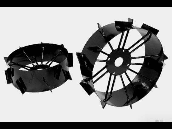 Conjunto De Rodas De Ferro P Microtrator - Maquinafort
