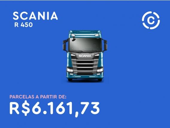 Consórcio até 8 anos - Scania R 450