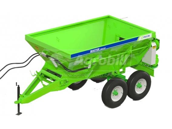 Distribuidor de Fertilizantes PICCIN Master 10000 DH1 Acionamento Hidráulico