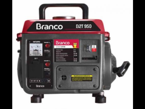 Gerador Brando B2T 950 220V 60Hz Partida Manual - Branco