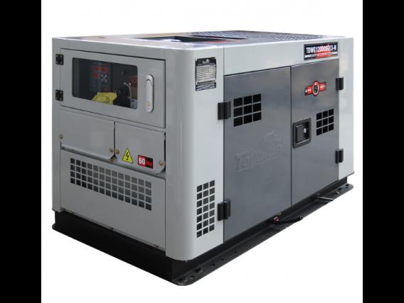 Gerador À Diesel Cabinado Tdwg12000Sge3-N Refrig. Água Trif. 380V 12.5 Kva - Toyama
