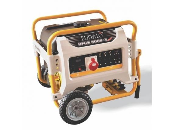 Gerador À Gasolina Bfge 8000 Master Trif 380 Partida Elétrica - Buffalo