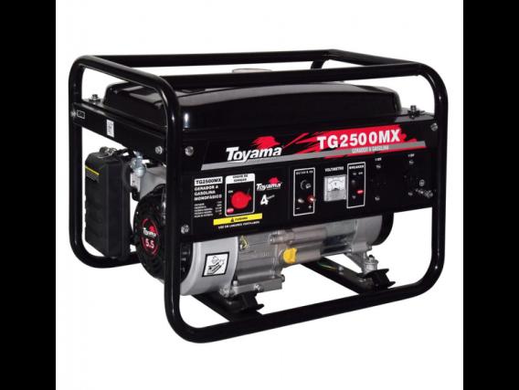 Gerador À Gasolina Tg2500Mx2 - 2500 Watts - 220V- Motor 4T Ohv 5,5C - Toyama