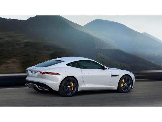 Jaguar F-type Coupe Ano 2021