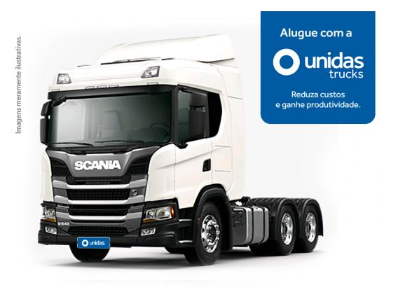 Locação Caminhão Scania G540