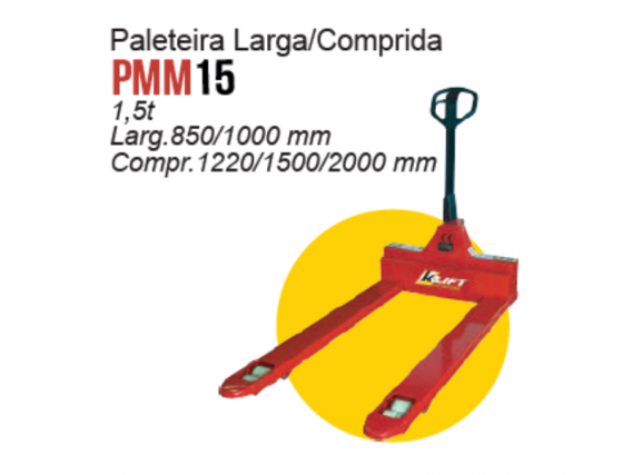 Paleteira Larga/comprida K-lift PMM15
