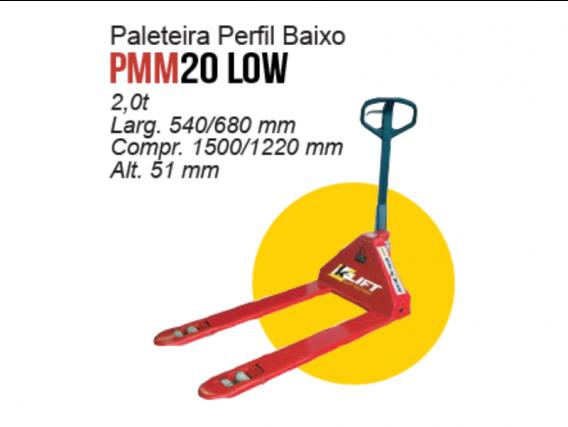 Paleteira Perfil Baixo K-lift PMM20 LOW