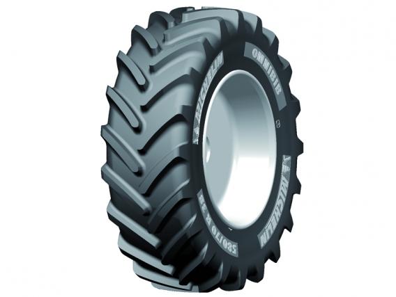Pneu Michelin Ominibib 380/70 R24 TL 125D
