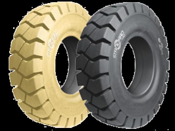 Pneu Superelástico Standard Tyres 18x7-8/4.33 ST-3000 LOC NM