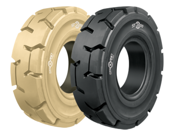 Pneu Superelástico Standard Tyres 27x10-12/8.00 ST-2000 P LOC NM