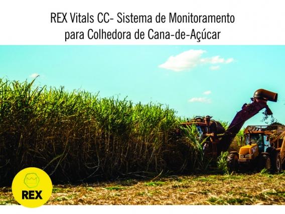 REX - Sistema de Monitoramento Colhedora de Cana-de-açúcar