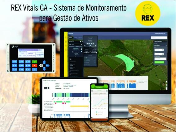 REX - Sistema de Monitoramento e Gestão de Ativos