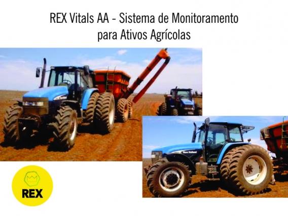 REX - Sistema de Monitoramento para Ativos Agrícolas