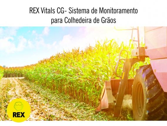 REX - Sistema de Monitoramento para Colheitadeira / Colhedeira de Grãos