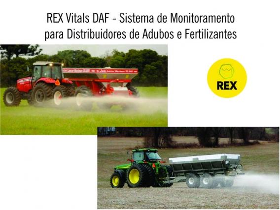 REX - Sistema de Monitoramento para Distribuidor de Adubo e Fertilizante