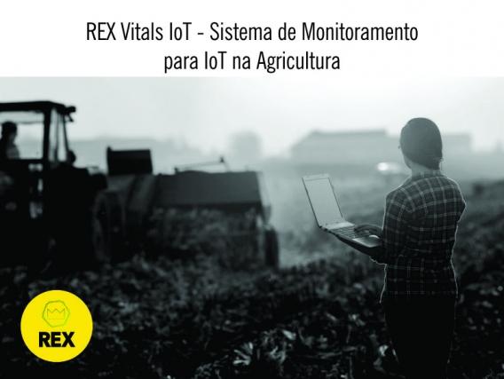 REX - Sistema de Monitoramento para IoT na Agricultura