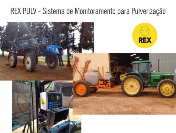 REX - Sistema de Monitoramento para Pulverização