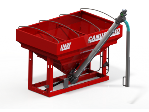 Abastecedor De Fertilizante INW Canudinho 5.0 300 Sc