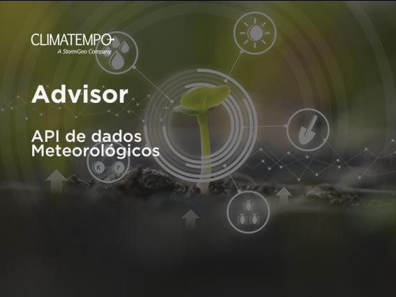Software Climatempo Advisor - API de dados Meteorológicos