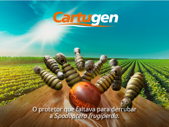 Inseticida Biológico para soja AgBiTech Cartugen