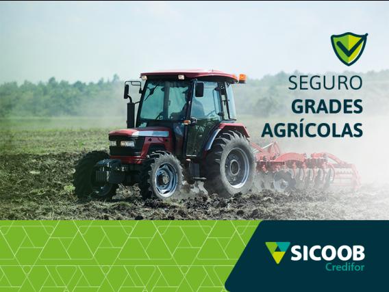 Seguro para Grades Agrícolas Sicoob Credifor