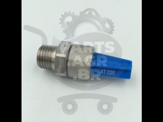 Bico Jacto Pulverizador Leque Xt020 Azul