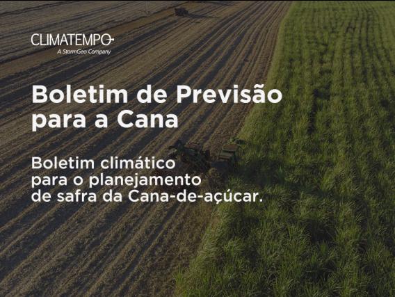Assessoria De Boletim De Previsão Para Cana Climatempo