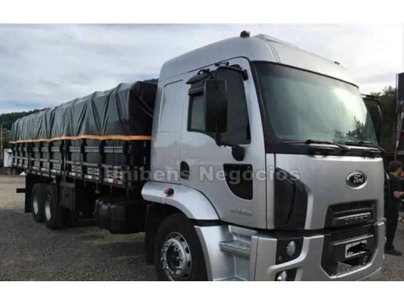 Caminhão Ford Cargo 2428 Ano 2012