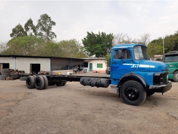 Caminhão No Chassi Mb 1113 Ano85 6X2