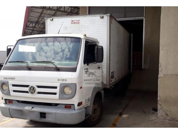 Caminhão Toco Bau Vw 8.150E Delivery - Ano 2008