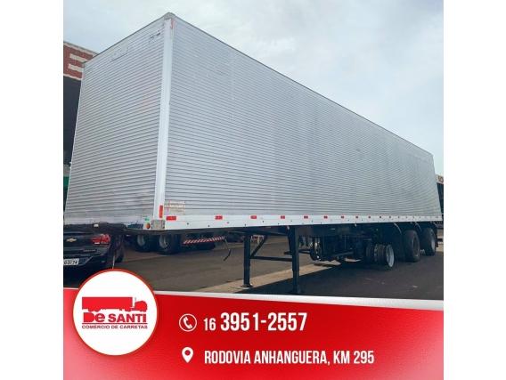 Carreta Bau Aluminio Ano 2012