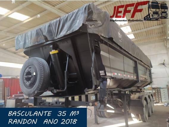 Carreta Caçamba Basculante 35 M3 Randon 2018