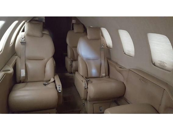 Avião Cessna Citation Ano 2001 Branco