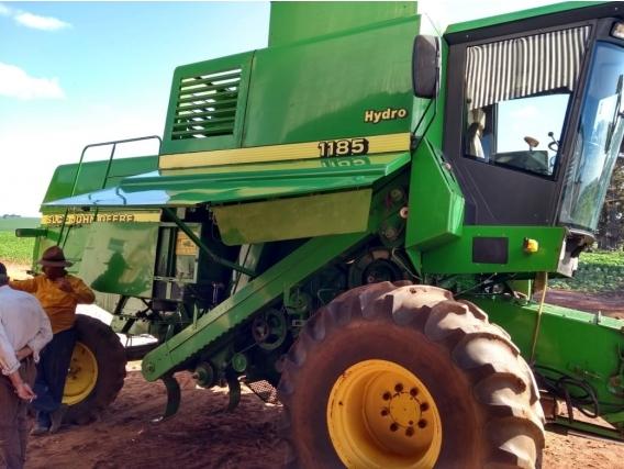 Colheitadeira 1185 - Motor Novo
