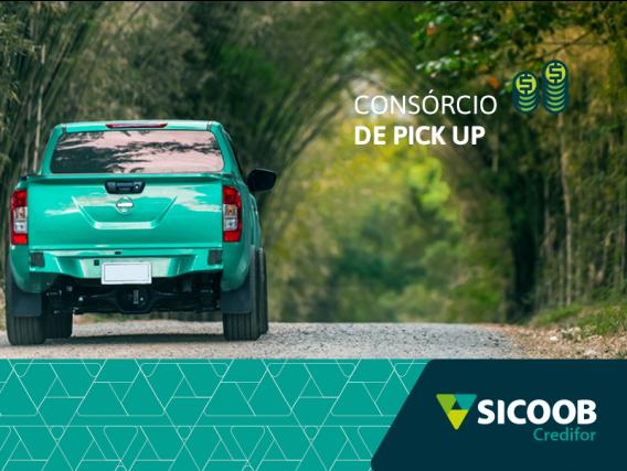 Consórcio de Pick Up Sicoob Credifor