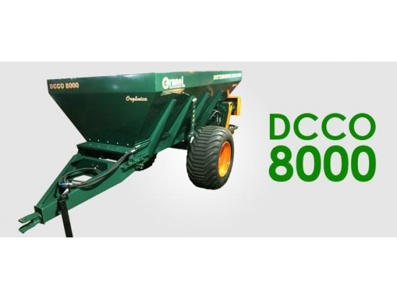 Distribuidor De Calcário E Compostos Orgânicos Granel Dcco 6000H