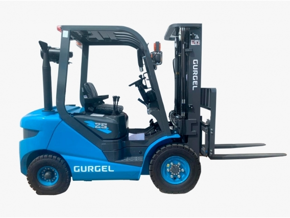 Empilhadeira Gurgel Lg 25 Diesel - Torre 6.00