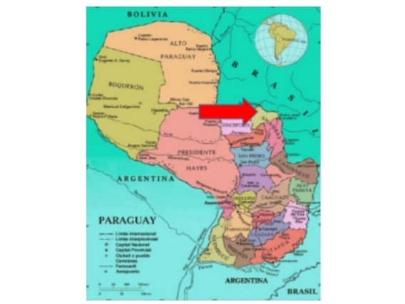 Fazenda Em Zona Oriental Paraguai De 4957 Hectáres