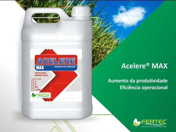 Fertilizante Fertec Acelere NK 21 00 07 Max