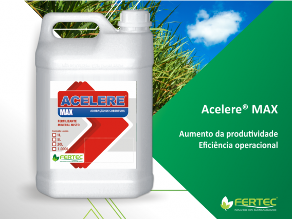 Fertilizante Fertec Acelere NK 10 00 20 Max