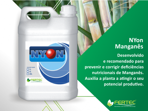 Fertilizante Mineral Misto Fertec NYon Manganês