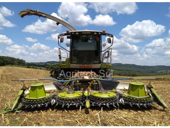 Forrageira Claas Jaguar 860 Ano 2017
