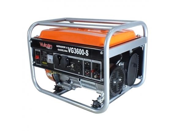 Gerador Gasolina Vg3600S 4T 208Cc Vulcan