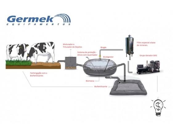 Gkg - Grupo De Gerador Biogás Germek