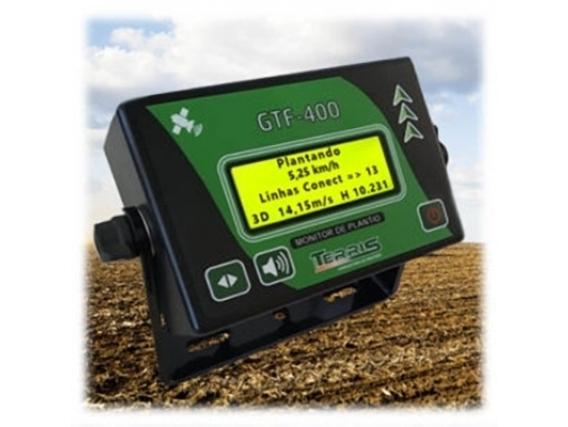 Gtf-400 Monitor De Plantio Terris Com Gps Integrado